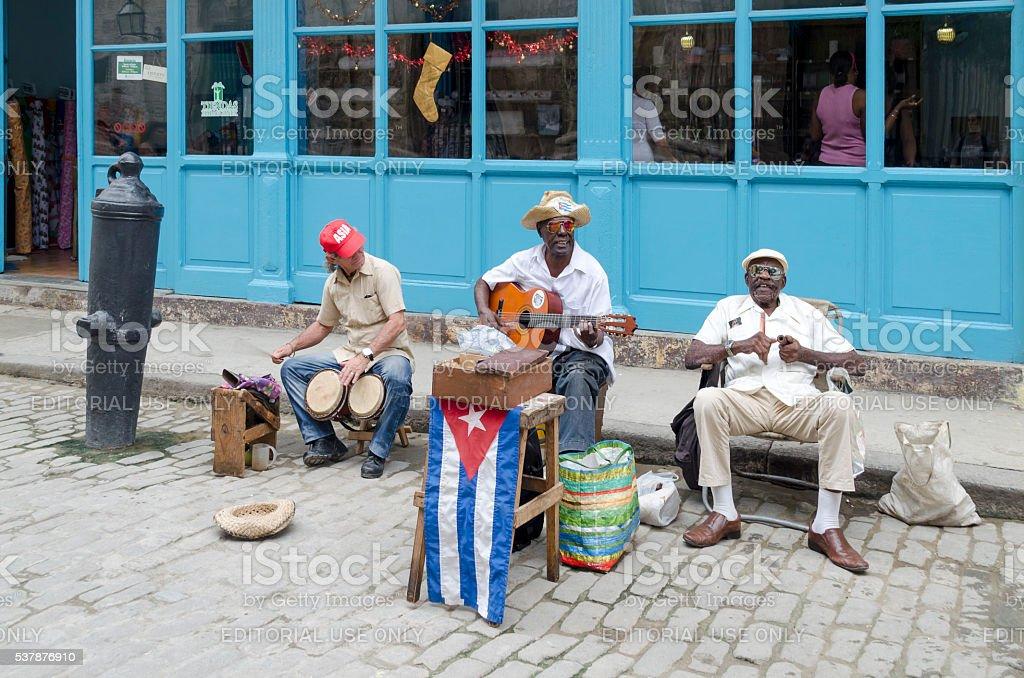 Calle músicos en la Habana. - Foto de stock de Actuación - Conceptos libre de derechos