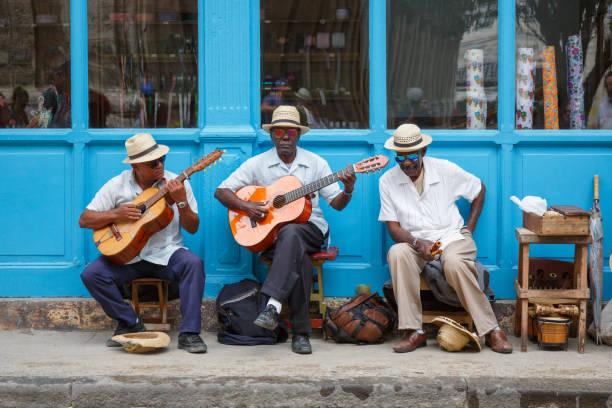 Straßenmusikanten in Havanna – Foto