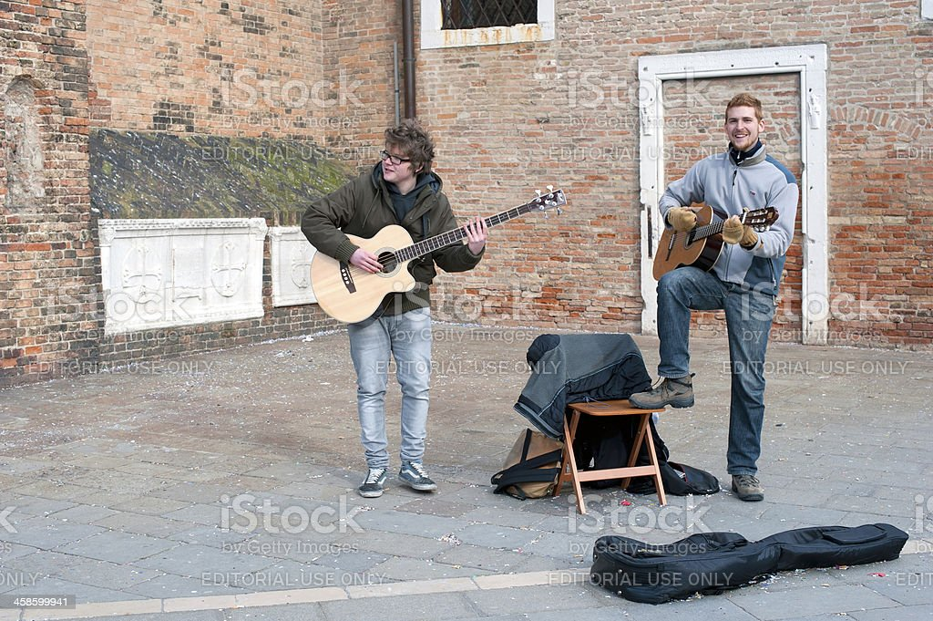 Street Musicians royalty-free stock photo