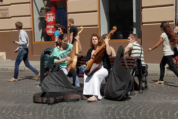 Cтоковое фото Street musicians