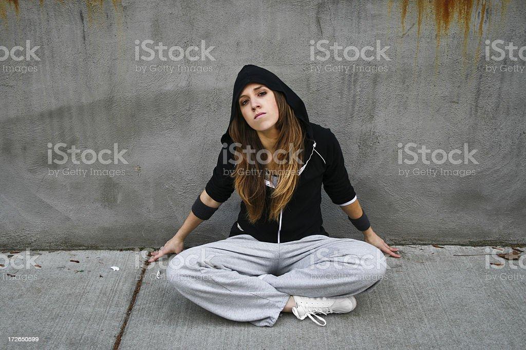 Street My Ghetto stock photo