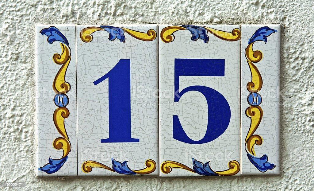 Street Nummer 15 mit – Foto