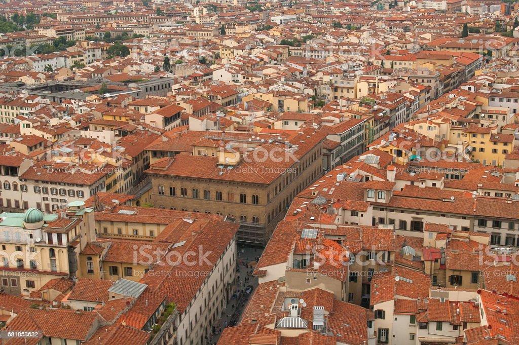 Street of Florence стоковое фото
