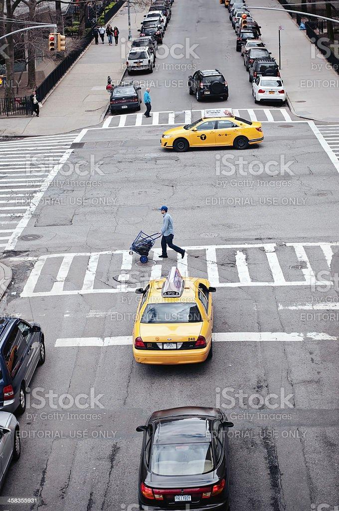 Street of New York City royalty-free stock photo