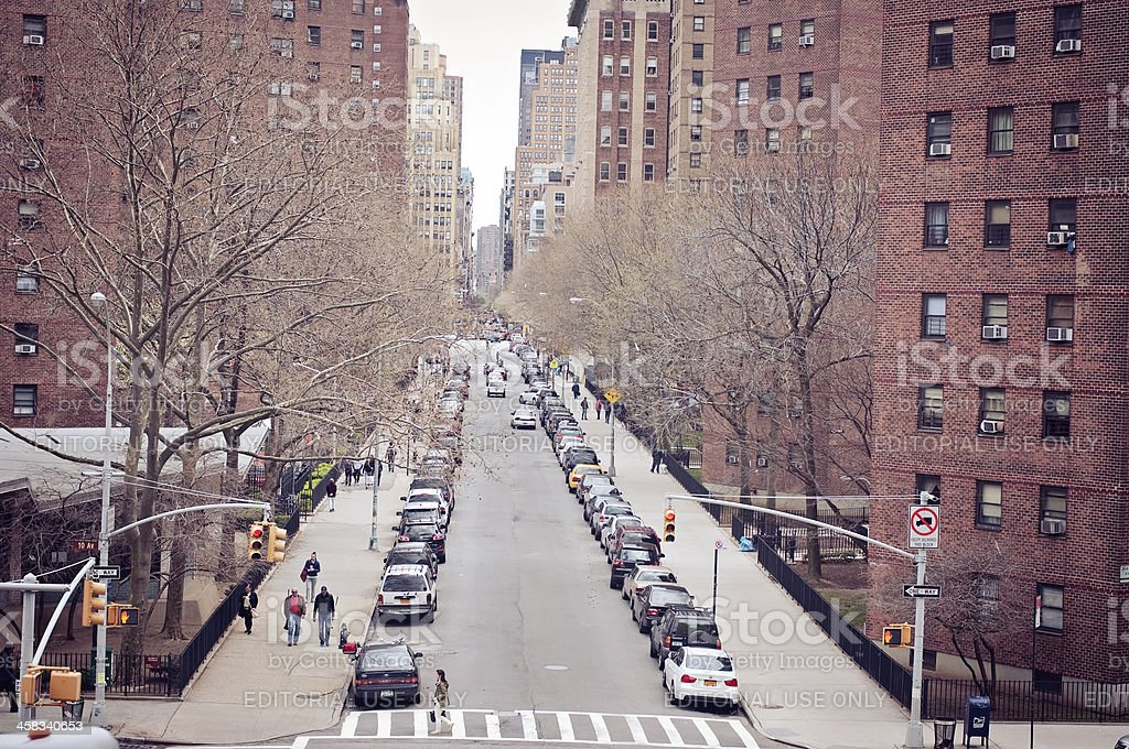 Street of New York royalty-free stock photo