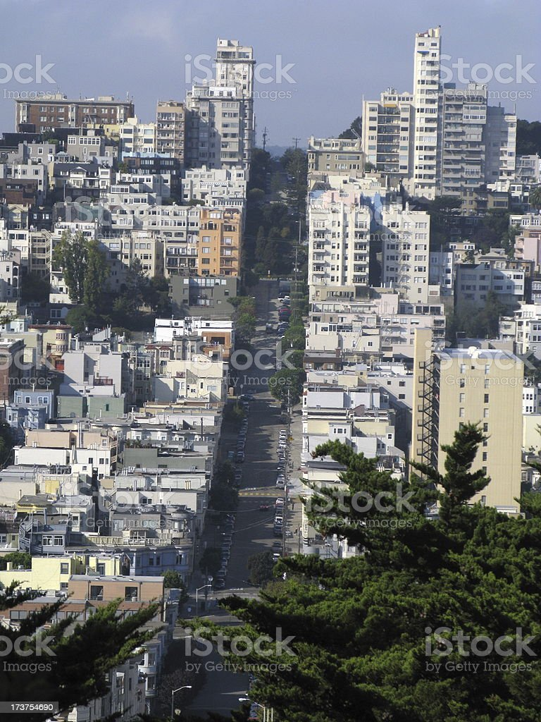 Street of San Francisco stock photo