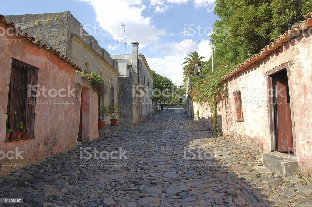 Calle de los Suspiros stock photo