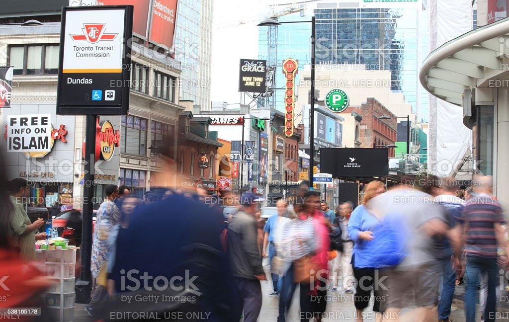 Street of Toronto - Royalty-free Activity Stock Photo