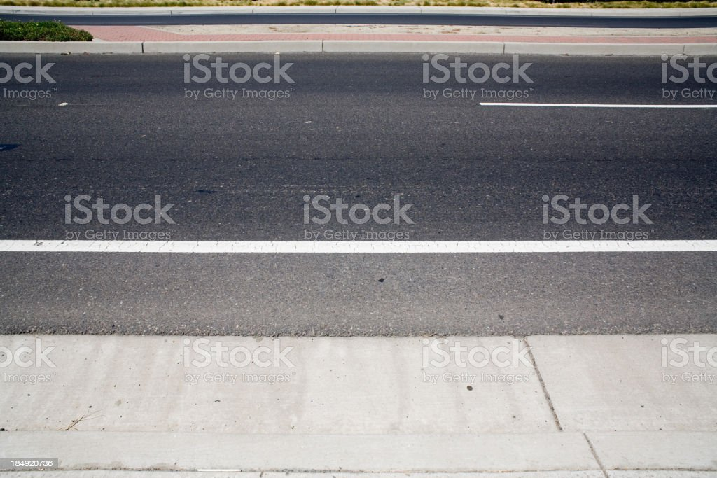 Street On A Side royalty-free stock photo