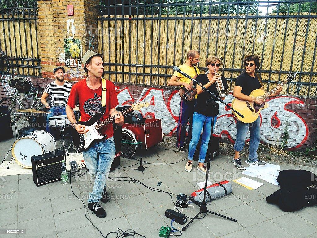 Street performance.  Berlin – Foto