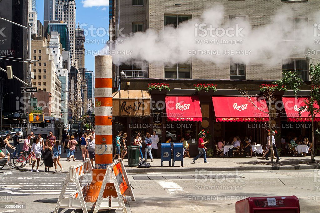 NYC Street stock photo