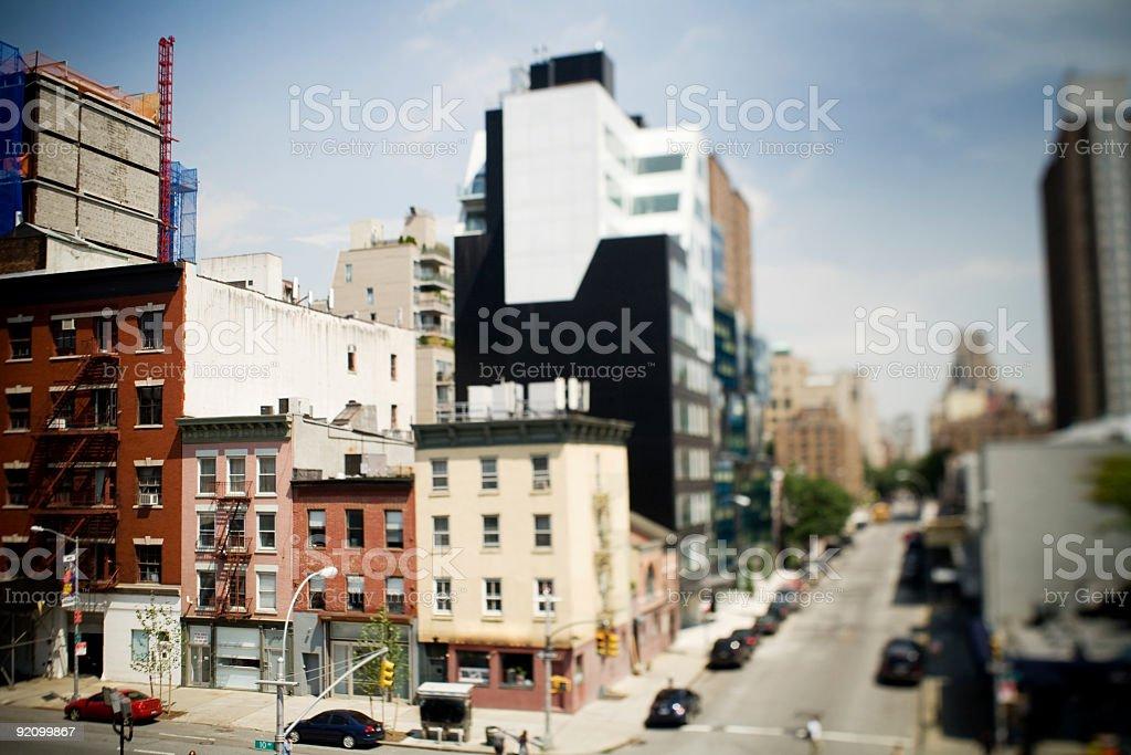 NYC street stock photo