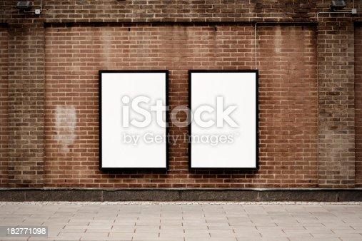 istock Street posters 182771098