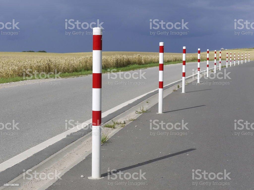 street pylon stock photo