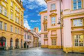 istock Street scene in Bratislava, capital city of Slovakia 945446498