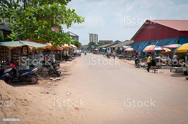 Street Scene In Koh Kong, Cambodia