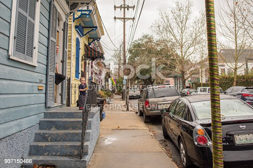 938895626 istock photo Street scene in Marigny in New Orleans 937150466
