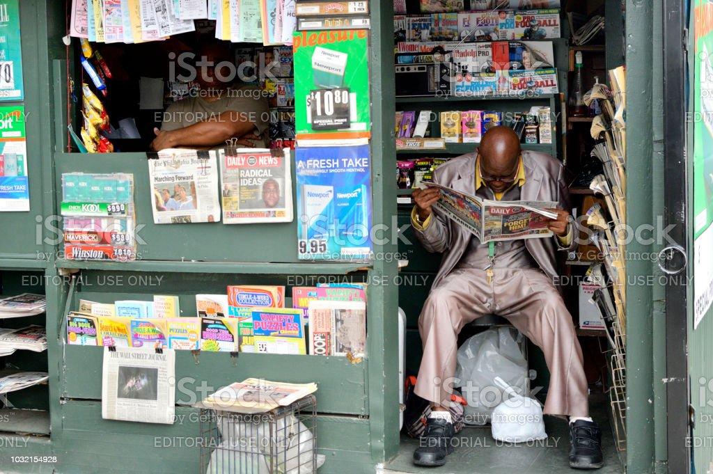 Street Scene in Philadelphia, pennsyvlania stock photo