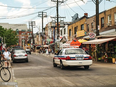 136699912 istock photo Street Scene Kensington Market - Toronto, ON. Canada 1197722221