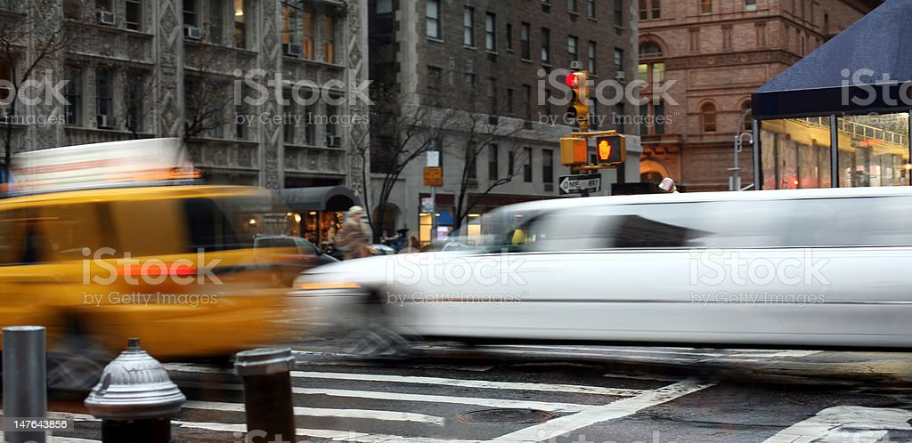 Street scene, New York royalty-free stock photo
