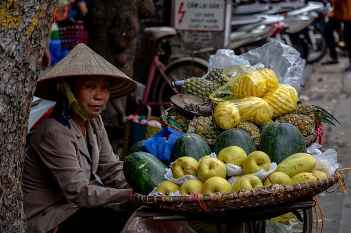 Street seller Hanoi