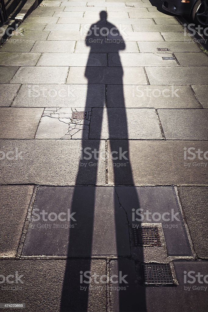Street Shadow stock photo