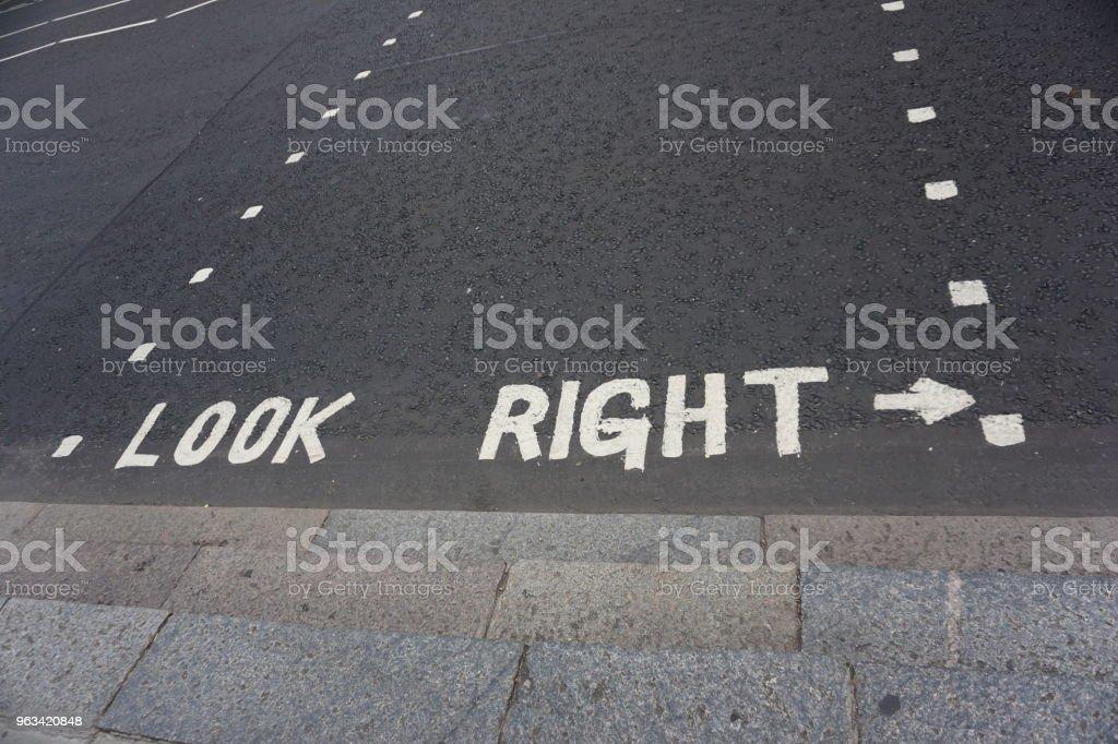 Znak uliczny w Londynie - Zbiór zdjęć royalty-free (Fotografika)