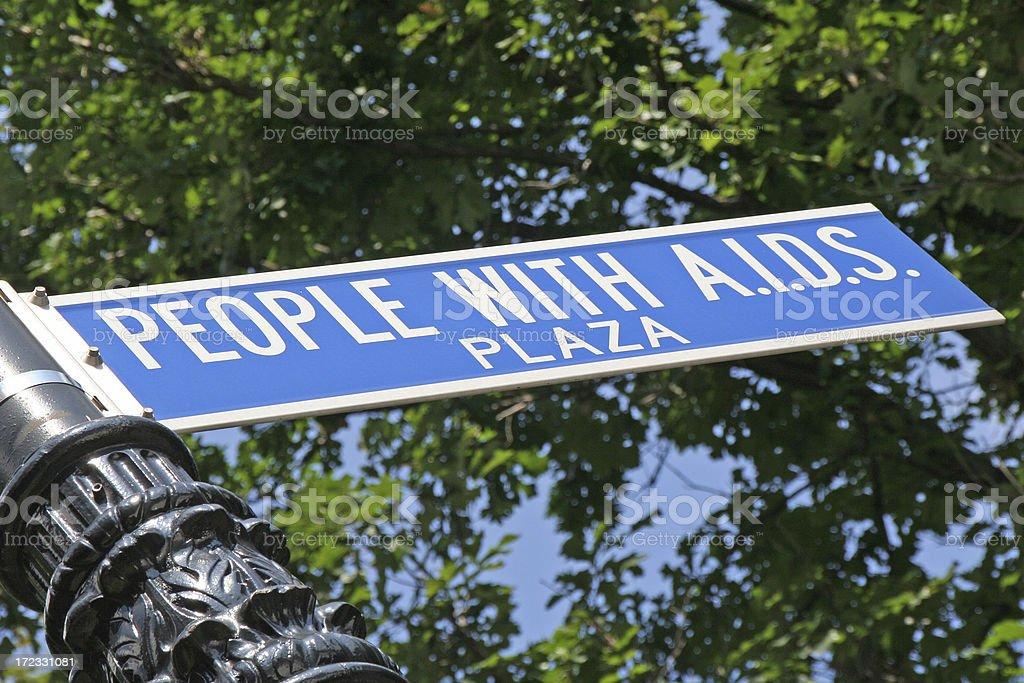 Street sign - New York # 3 royalty-free stock photo