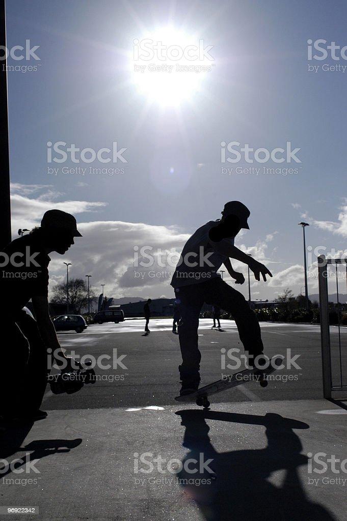 Street Skater royalty-free stock photo