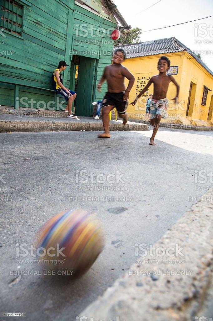 Street Fußball – Foto