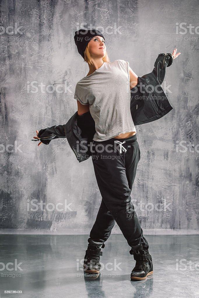 street style dancer royalty-free stock photo