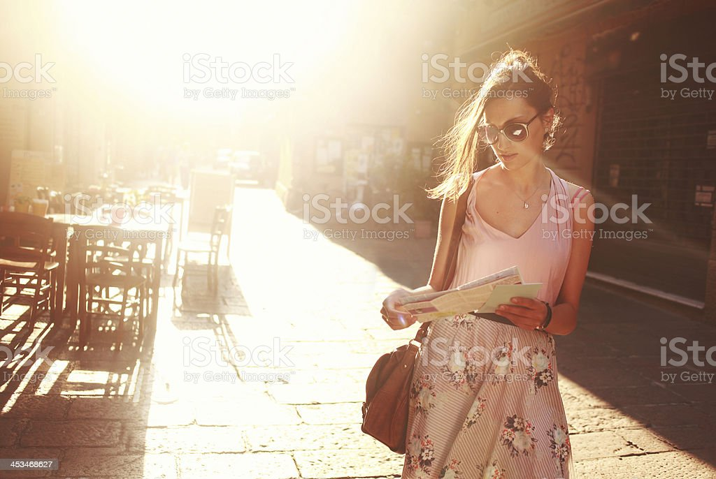 street style fashion stock photo