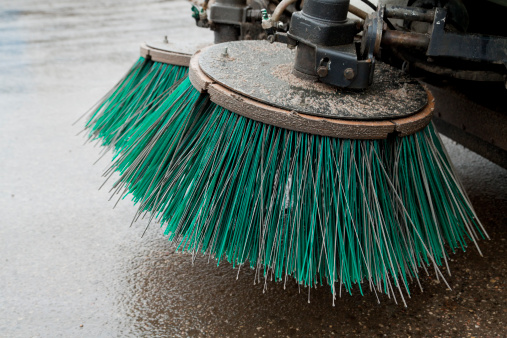 Street Sweeper Stock Photo - Download Image Now