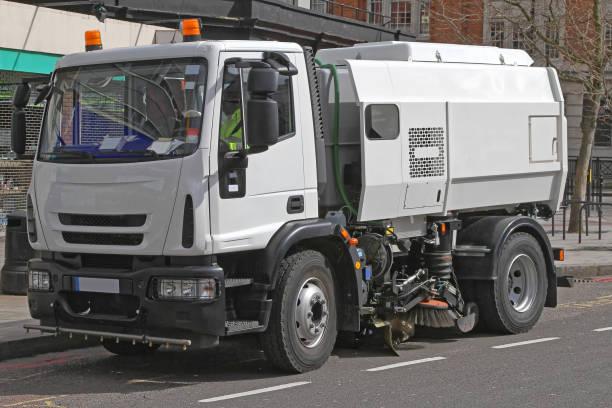Street Sweeper Truck stock photo