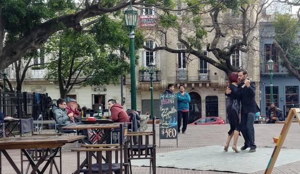 Street tango, Buenos Aires, Argentina - foto de stock