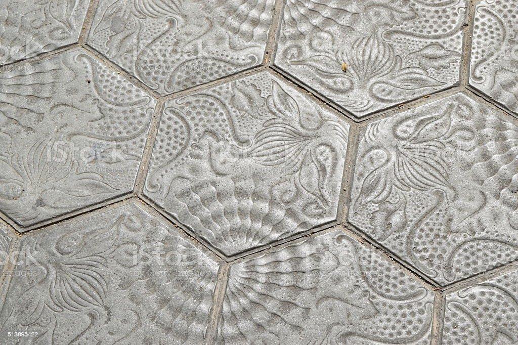 Street Tiles stock photo