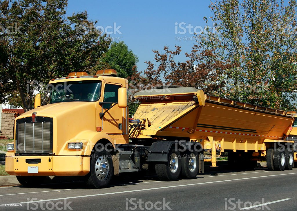 Street Truck royalty-free stock photo