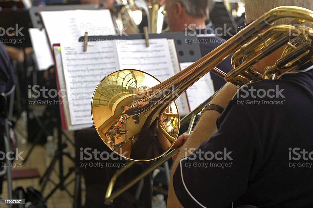 Street Trumpet Orchestra royalty-free stock photo