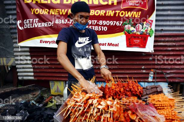 Street vendor sell assorted grilled pork and chicken innards barbecue picture id1226537330?b=1&k=6&m=1226537330&s=612x612&h=t51uvnpy8g vkaxy3n2tskrwuhtsyxe3aepn6upak k=