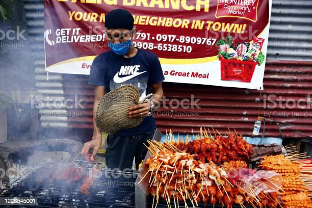 Street vendor sell assorted grilled pork and chicken innards barbecue picture id1226545001?b=1&k=6&m=1226545001&s=612x612&h=gjrpwzxu03rjjw4bljcc8qxkx9vm4clycz pol9dx2w=