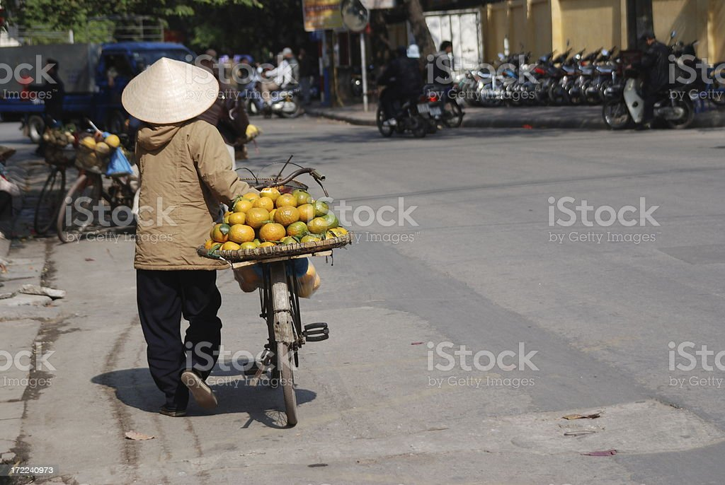 Street vendor3 royalty-free stock photo