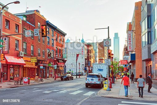 1202686823istockphoto Street view at Chinatown in Philadelphia 946125876