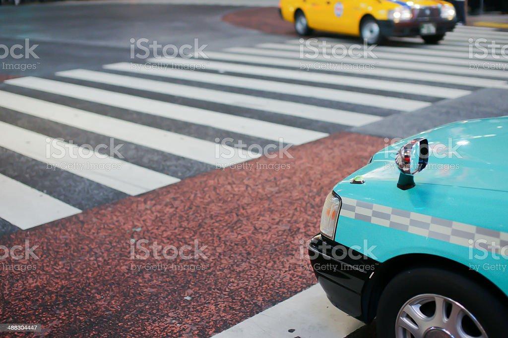Blick auf die Straße von Tokio. – Foto