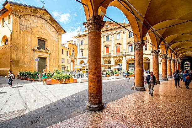 Street view in Bologna city – Foto