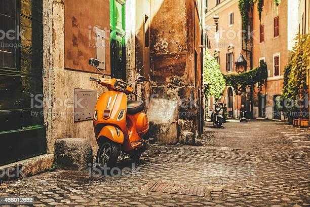 Street view in Trastevere, Rome's favorite neighborhood