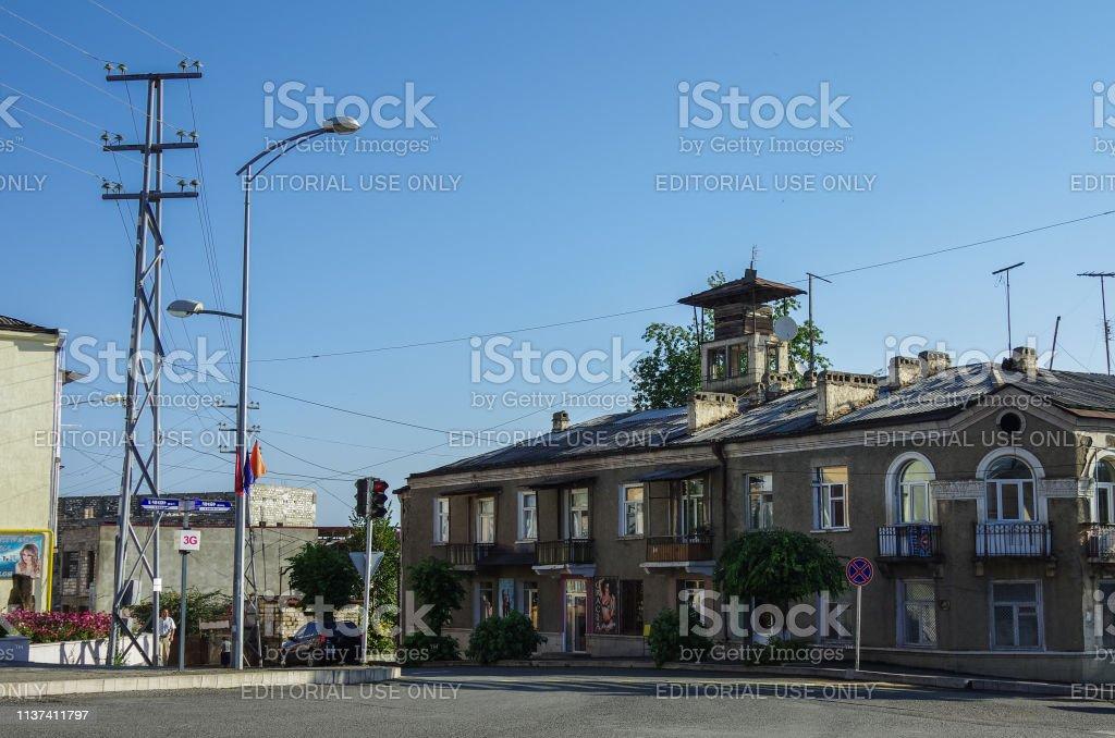 Blick Auf Stepanakert Die Hauptstadt Der Region Bergkarabach Stockfoto Und Mehr Bilder Von Alt Istock