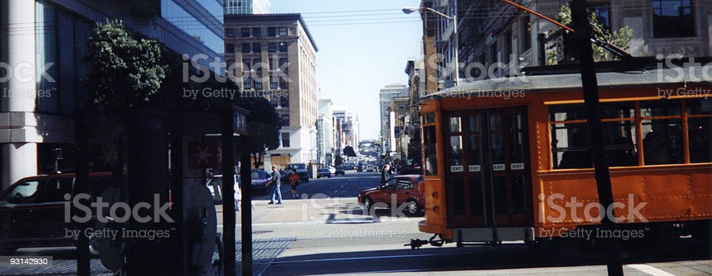 Street View (San Francisco) royalty-free stock photo