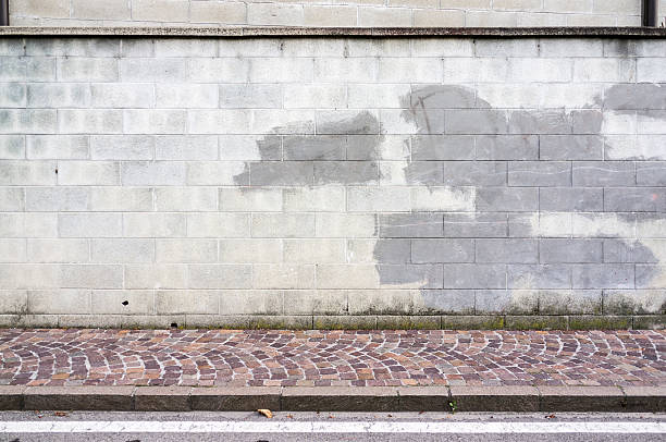 Street Wall Background Stock Photo