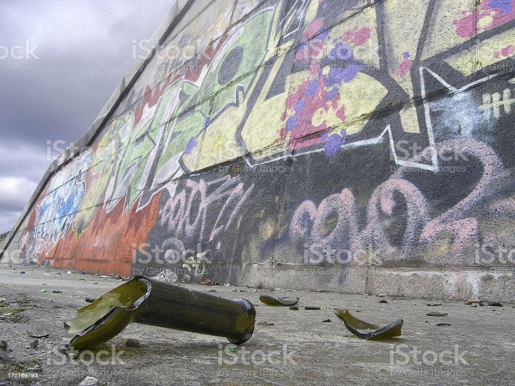 Street wall royalty-free stock photo