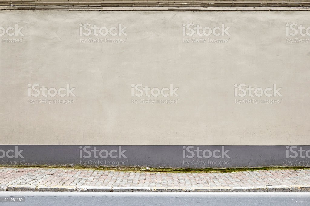 Street wall. stock photo